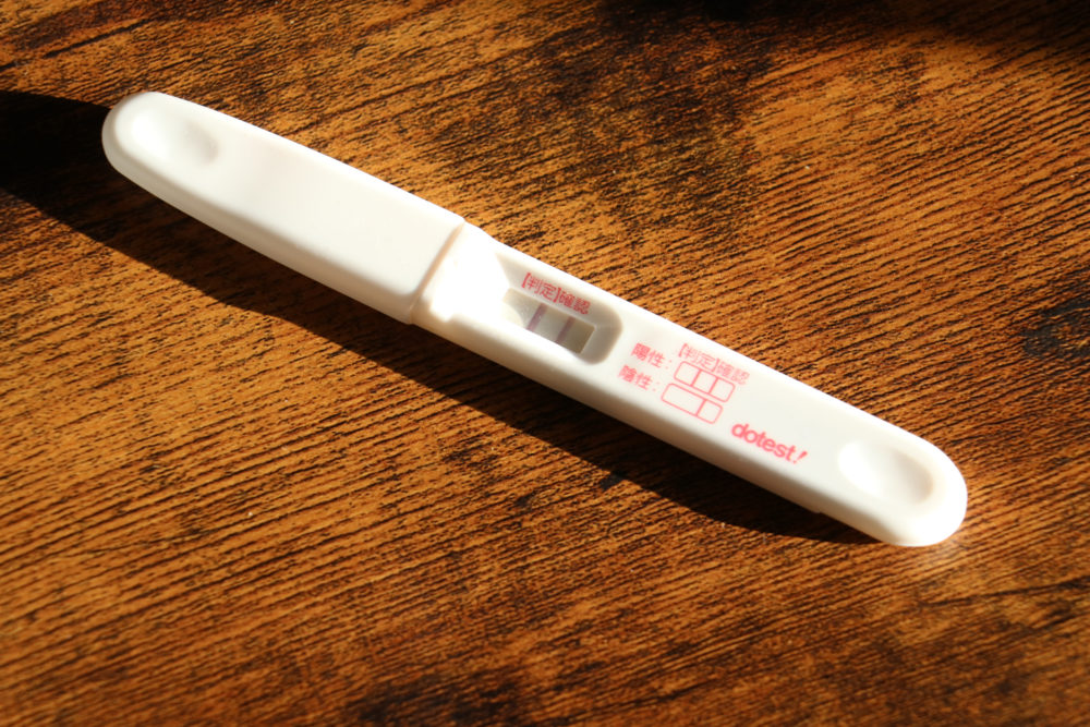 pregnancy test in japan