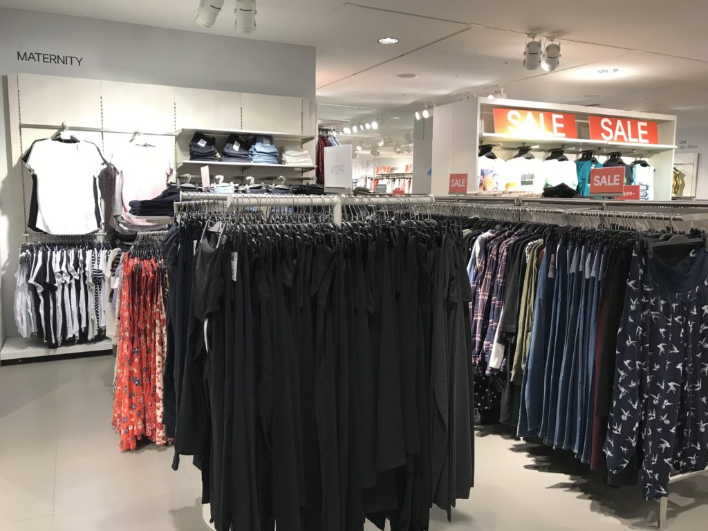 h&m maternity clothes japan