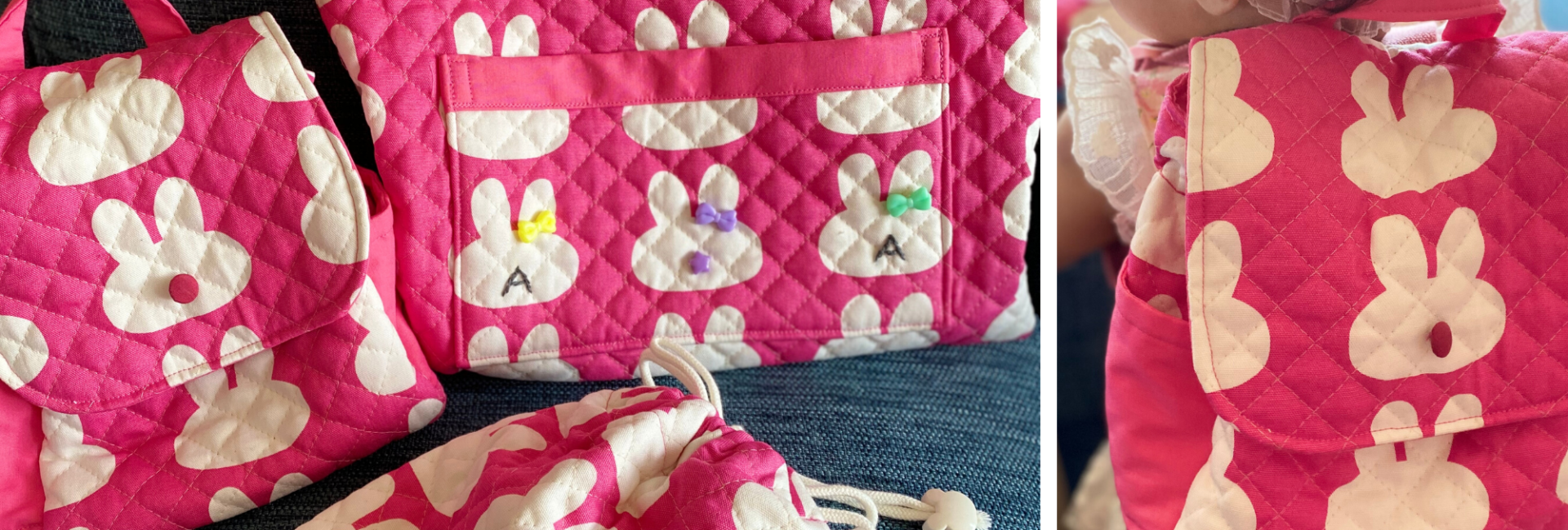 Handmade Daycare Bags