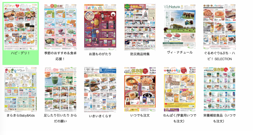 grocery delivery japan online flyer
