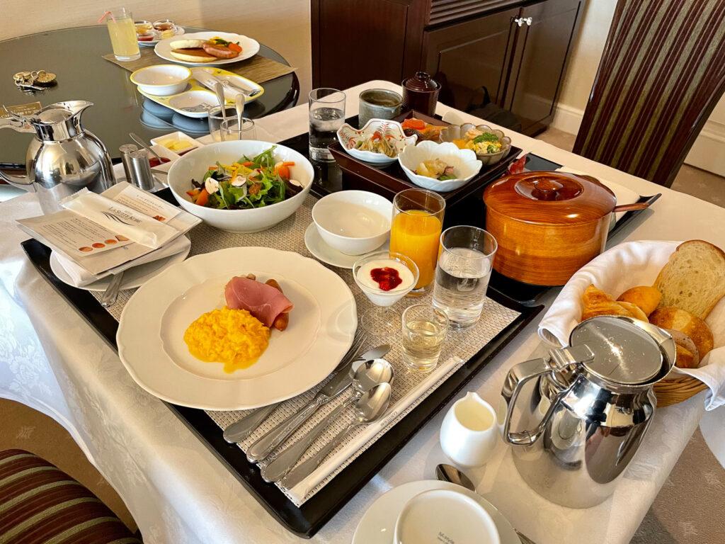 Breakfast at La Suite Kobe Harborland
