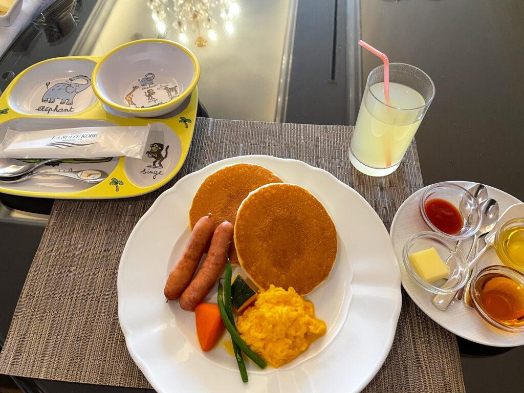 Breakfast for Kids at La Suite Kobe Harborland