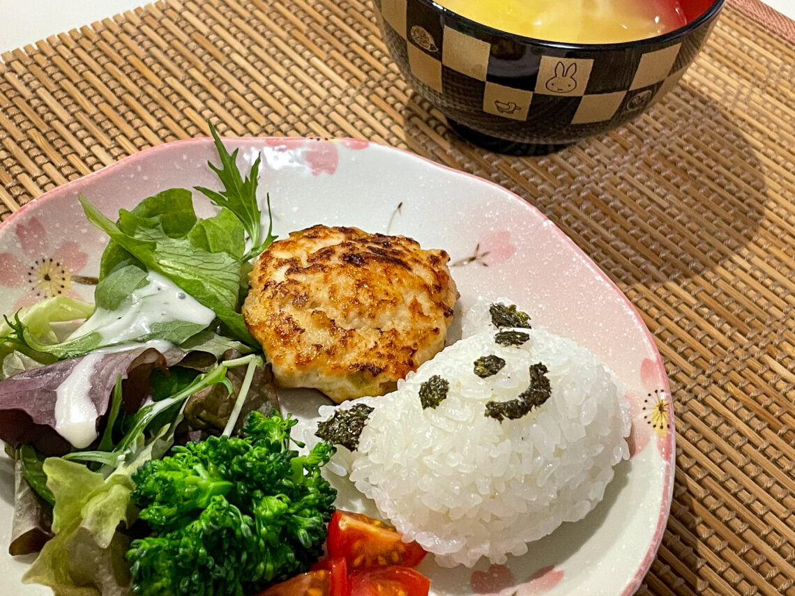 Japanese recipe tofu chicken patties for toddlers and babies