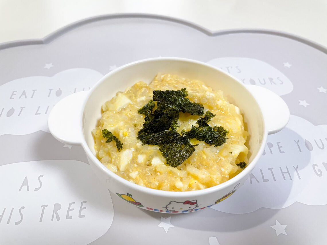 ojiya japanese rice porridge recipe for babies and toddlers