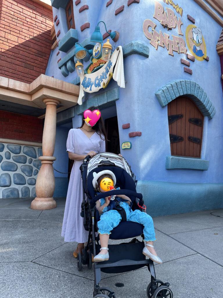 Tokyo Disneyland with toddler